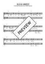 Téléchargez l'arrangement de la partition de Traditionnel-Kuya-mbio en PDF à deux voix