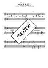 Téléchargez l'arrangement de la partition de Traditionnel-Kuya-mbio en PDF à trois voix