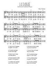 Téléchargez l'arrangement de la partition de chant-de-marin-la-danae en PDF à deux voix