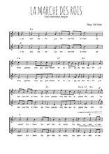 Téléchargez l'arrangement de la partition de noel-la-marche-des-rois en PDF à deux voix