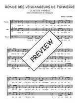 Téléchargez l'arrangement de la partition de Traditionnel-La-petite-Therese en PDF à trois voix
