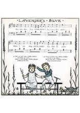 Lavender's blue Partition gratuite