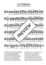 Téléchargez l'arrangement de la partition de Traditionnel-Le-forban en PDF à deux voix