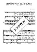 Téléchargez la partition de Listen to the angels shouting en PDF pour 2 voix égales et piano