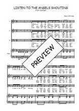 Téléchargez la partition de Listen to the angels shouting en PDF pour 3 voix SAB et piano