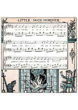 Little jack Horner Partition gratuite
