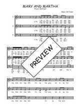 Téléchargez l'arrangement de la partition de Traditionnel-Mary-and-Martha en PDF à trois voix