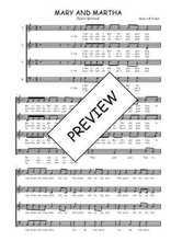Téléchargez l'arrangement de la partition de Traditionnel-Mary-and-Martha en PDF à quatre voix