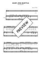 Téléchargez la partition de Mary and Martha en PDF pour Chant et piano