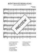 Téléchargez l'arrangement de la partition de Traditionnel-Montanyas-regaladas en PDF à deux voix