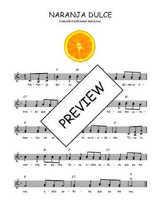 Téléchargez l'arrangement de la partition de Traditionnel-Naranja-dulce en PDF à deux voix