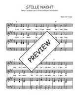 Téléchargez la partition de Stille nacht NL en PDF pour 2 voix égales et piano