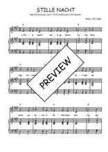 Téléchargez la partition de Stille nacht NL en PDF pour Chant et piano
