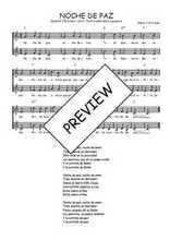 Téléchargez l'arrangement de la partition de Traditionnel-Noche-de-paz en PDF à deux voix