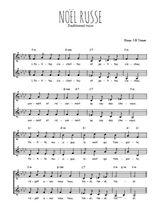 Téléchargez l'arrangement de la partition de noel-russe en PDF à deux voix