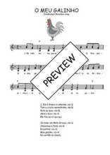 Téléchargez l'arrangement de la partition de Traditionnel-O-meu-galinho en PDF à deux voix