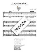 Téléchargez l'arrangement de la partition de Traditionnel-O-meu-galinho en PDF à trois voix