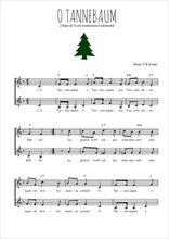 Téléchargez l'arrangement de la partition de noel-allemand-o-tannenbaum en PDF à deux voix