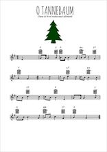 Téléchargez la partition en Sib de la musique noel-allemand-o-tannenbaum en PDF