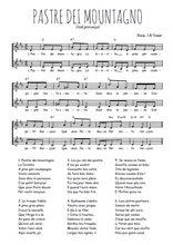 Téléchargez l'arrangement de la partition de noel-provence-pastre-dei-mountagno en PDF à deux voix