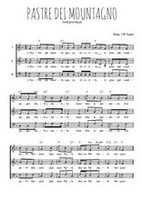 Téléchargez l'arrangement de la partition de noel-provence-pastre-dei-mountagno en PDF à trois voix