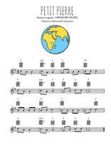 Téléchargez la partition en Sib de la musique comptine-petit-pierre en PDF