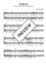 Téléchargez l'arrangement de la partition de Traditionnel-Poreho en PDF à deux voix