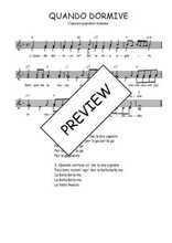 Téléchargez l'arrangement de la partition de Traditionnel-Quando-dormive en PDF à deux voix
