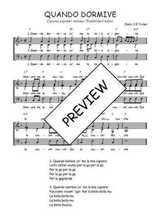 Téléchargez l'arrangement de la partition de Traditionnel-Quando-dormive en PDF à trois voix