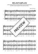 Téléchargez l'arrangement de la partition de Traditionnel-Relantamplan en PDF à trois voix