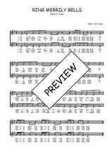 Téléchargez l'arrangement de la partition de Traditionnel-Ring-merrily-bells en PDF à deux voix