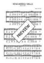 Téléchargez l'arrangement de la partition de Traditionnel-Ring-merrily-bells en PDF à trois voix