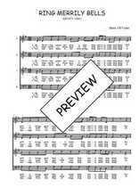 Téléchargez l'arrangement de la partition de Traditionnel-Ring-merrily-bells en PDF à quatre voix