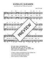 Téléchargez l'arrangement de la partition de Traditionnel-Ryebuck-Shearer en PDF à deux voix