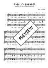 Téléchargez l'arrangement de la partition de Traditionnel-Ryebuck-Shearer en PDF à trois voix