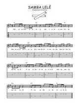 Téléchargez la tablature de la musique bresil-samba-lele en PDF