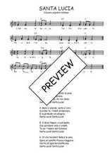 Téléchargez l'arrangement de la partition de Traditionnel-Santa-Lucia en PDF à deux voix