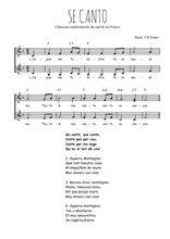 Téléchargez l'arrangement de la partition de se-canto en PDF à deux voix