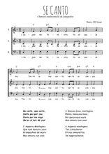 Téléchargez l'arrangement de la partition de se-canto en PDF à trois voix
