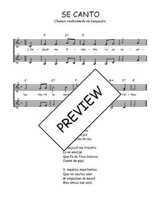 Téléchargez l'arrangement de la partition de Traditionnel-Se-canto-Languedoc en PDF à deux voix
