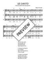 Téléchargez l'arrangement de la partition de Traditionnel-Se-canto-Languedoc en PDF à trois voix