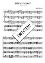 Téléchargez la partition de Silent night en PDF pour 3 voix SAB et piano