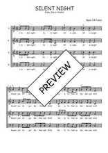 Téléchargez l'arrangement de la partition de noel-silent-night en PDF à quatre voix