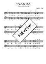 Téléchargez l'arrangement de la partition de Traditionnel-Simi-jadech en PDF à deux voix