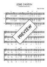 Téléchargez l'arrangement de la partition de Traditionnel-Simi-jadech en PDF à trois voix