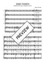 Téléchargez la partition de Simi jadech en PDF pour 4 voix SATB et piano