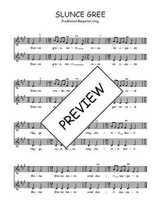 Téléchargez l'arrangement de la partition de Traditionnel-Slunce-Gree en PDF à deux voix