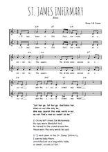 Téléchargez l'arrangement de la partition de st-james-infirmary-blues en PDF à deux voix