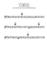 Téléchargez la partition en Sib de la musique usa-stewball en PDF