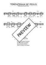 Téléchargez l'arrangement de la partition de Traditionnel-Terezinha-de-Jesus en PDF à deux voix